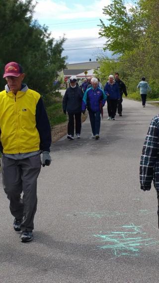 Senior Walk: Manchester, NH