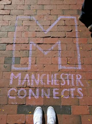 Manchester Connects feet